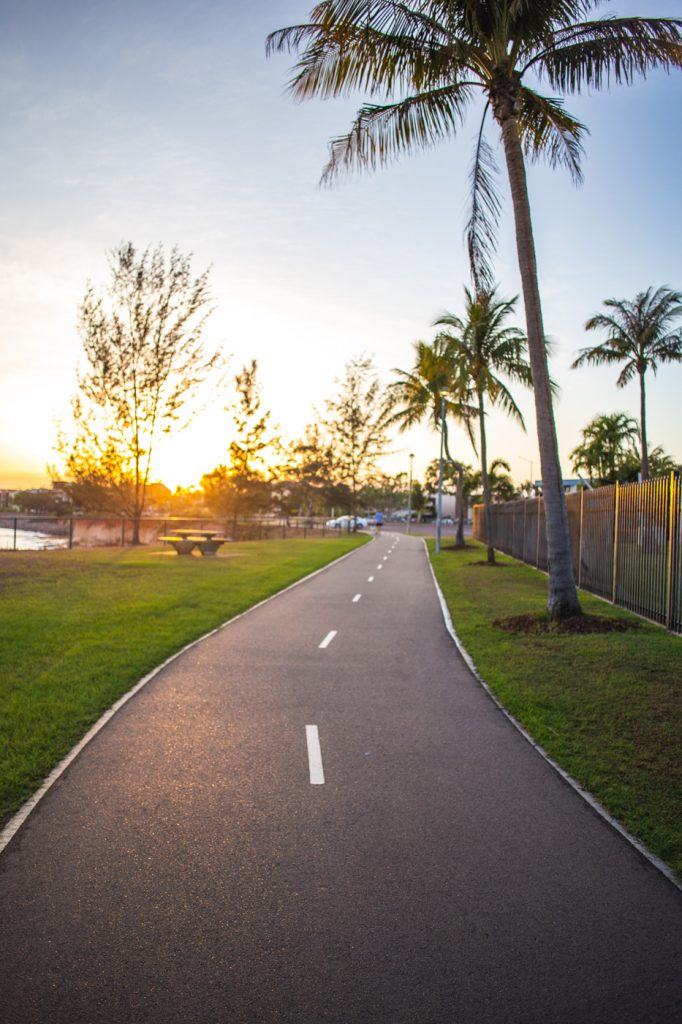 Sunshine On The Path - Back In Darwin